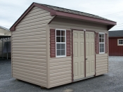 Pine Creek 8x12 vinyl cottage shed,serving,lancaster,dauphin,york,lebonan county