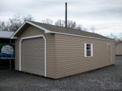Pine creek 14x28 peak garage,serving,lancaster,dauphin,york,lebonan counties