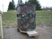 4x6 Nomad Portable Field Blind