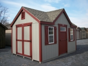 Pine Creek 10x14 victorian storage shed,serving,lancaster,york,dauphin,lebonan