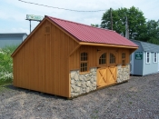 12 x 20 Board & Batten Carrage House Shed  ...only $262/month