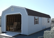 14x32 Vinyl Dutch One-Car Garage