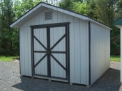10x12 Front Entry Peak Storage Shed