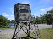 Hunting Blind/ Deer Stand/ Kids Retreat IN STOCK 607-771-1111   NY 13901