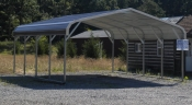 Metal carport available at Pine Creek Structures in Egg Harbor City, NJ 1-866-96