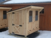 Board n Batten Chicken Coop - 4x6