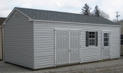 12ft x 24ft Side Peak Workshop Shed in Hanover, PA Pine Creek Structures