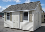 10ft x 14ft Vinyl Cape Cod Shed in Hanover, PA Pine Creek Structures