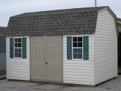 10ft x 14ft Vinyl Dutch Barn Shed in Hanover, PA Pine Creek Structures