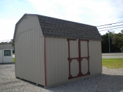 10x14 Madison Dutch Barn storage shed available at Pine Creek Structures