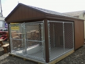 8x14 Large Double Dog Kennel Pine Creek Structures Binghamton NY 13901