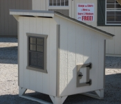 4ft x 4ft Chicken Condo in Hanover, PA Pine Creek Structures