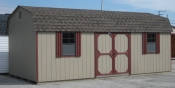 12ft x 24ft Wood Dutch Barn Shed in Hanover, PA Pine Creek Structures