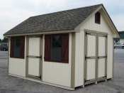 10x14 Wood Cape Cod Shed in Hanover, PA Pine Creek Structures
