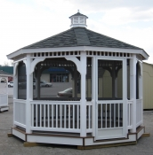 12' Vinyl Ontario Gazebo in Hanover, PA Pine Creek Structures