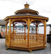 12' Wood Victorian Gazebo in Hanover, PA Pine Creek Structures