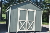 10'x12' Front Entry Peak Style Shed