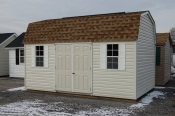 10x16 Vinyl Dutch Barn