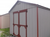 10x12 Madison Peak Storage Shed - Erie PA