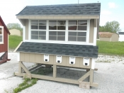 6x8 Chicken Condo - Erie PA