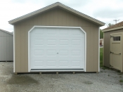 14x40 Peak Front Duratemp Wood Garage - Erie, PA