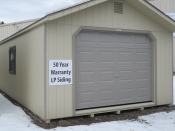 14x32 Peak Garage One car garage Binghamton NY 607-771-1111