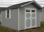 10X12 Storage Shed by Pine Creek Structures