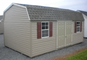 12x20 Vinyl Dutch Storage Barn at Pine Creek Structures in Berrysburg, PA