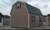 14ft x 24ft Wood 2 Story Dutch Barn Pine Creek Structures in Hanover, PA