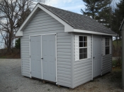 10X12 Vinyl Sided Cape Cod Storage Shed