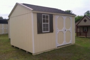 10x12 Side Entry Peak Storage Shed