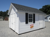CLICK for more info on this Egg Harbor City, NJ Vinyl Cape Cod Storage Shed