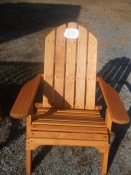Wood Folding Adirondack Patio Chair