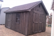 10x14 Board N Batten Cape Cod Storage Shed