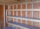 Shelves by Pine Creek Structures