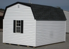 10ft x 14ft Vinyl Hi-wall Barn Shed in Hanover, PA Pine Creek Structures
