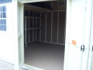 5' Side Entry Double Doors in this 10x16 Dutch Shed