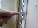 Stainless Steel Piano Door Hinges on this 10x16 Dutch Shed