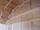 LP Smart Siding on a Pine Creek Structures Shed