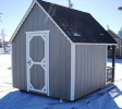 Pine Creek Sturctures  8x10 Clubhouse play house with clay siding white trim