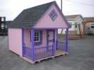 8x10 Pink Clubhouse Playhouse