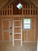8'x10' Clubhouse Style Playhouse (Interior)