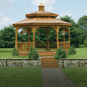 Gazebos, Pergolas, Pavilions, & Cabanas from Pine Creek Structures