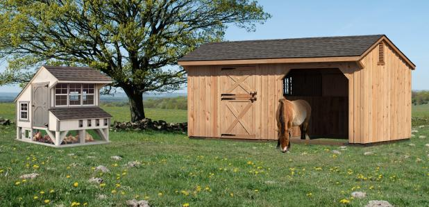 Chicken Coops, Kennels, and Horse Barns