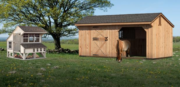Chicken Coops, Kennels, and Horse Barns from Pine Creek Structures