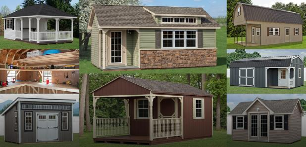 Customize Your Pine Creek Structure!