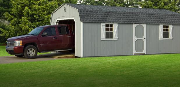 1-Car Portable Garages from Pine Creek Structures