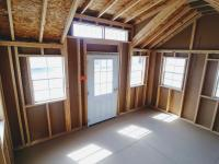 Interior 10x14 Cape Cod Office Shed