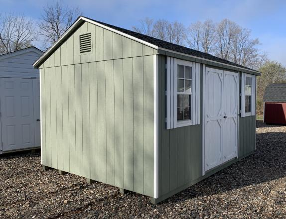 10x14 Peak Style Storage Shed in CT by Pine Creek Structures of Berlin