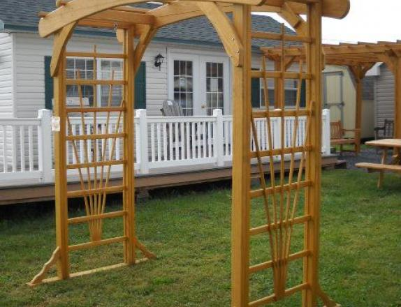 *8ft Garden Arbor for Swing by Pine Creek Structures